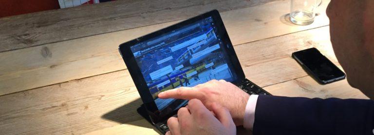 De praktijk van online: bouwmanager Vincent gebruikt online middelen om samen te werken