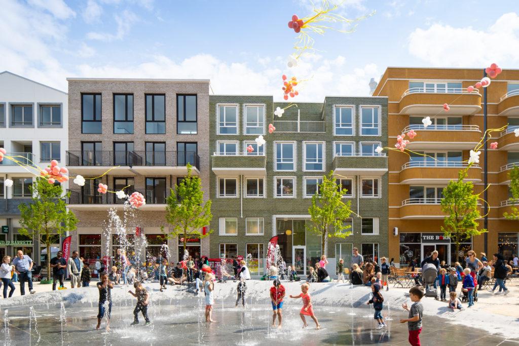 Leidsche Rijn Centrum op de dag van opening