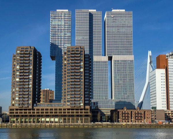 Woontorens Boston & Seattle, Rotterdam