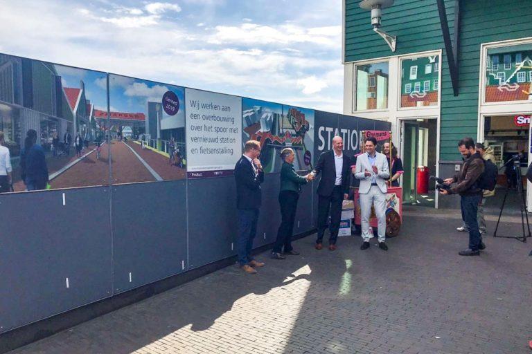 Bouw interwijkverbinding stationsgebied Zaandam is begonnen