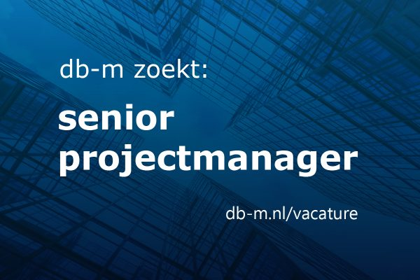 Vacature senior projectmanager